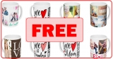 FREE by Mail – Customized Ceramic Mug !