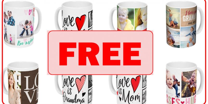 FREE by Mail – Customized Ceramic Mug !