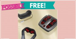 Possible FREE Naipo Massager with Heat !