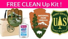 WOW! Totally FREE National Park Clean Up Kits!