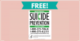 Free National Suicide Prevention Lifeline Magnet by Mail