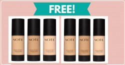 Totally Free Note Beauty Foundation Samples By Mail!