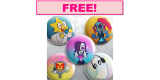 Free Pack of Buttons