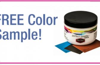 FREE 8oz Paint Color Sample
