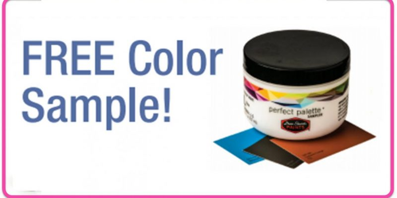 FREE 8oz Paint Color Sample