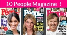 1 Year of People Magazine FOR Totally FREE!