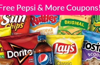 Totally FREE PESPSI & FRITO LAY COUPONS BY MAIL!