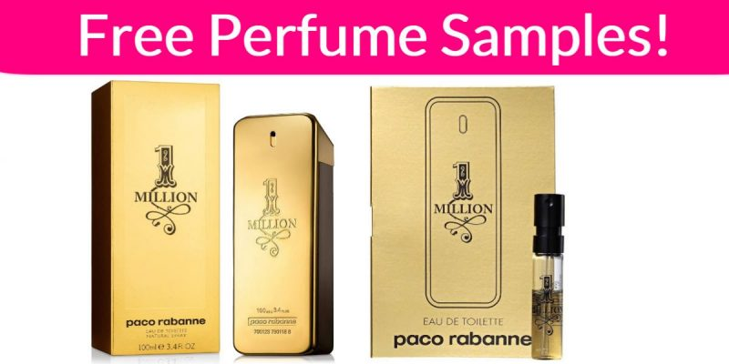FREE Perfume Sample By Mail – Paco Rabanne 1 Million!