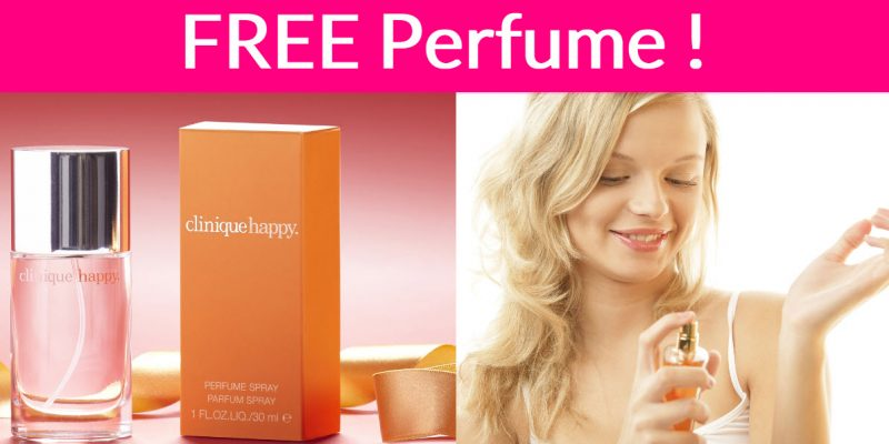 FREE Clinique Perfume Sample By Mail!