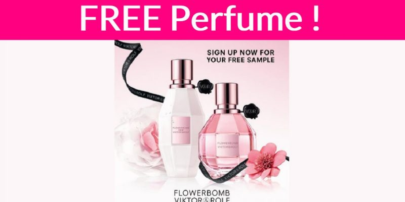 FREE Flowerbomb Perfume Sample By Mail!