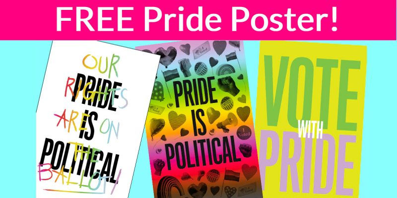 Totally FREE PRIDE Posters By Mail!
