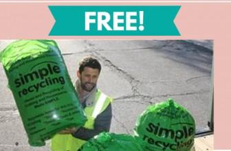 FREE Recycling Bag!