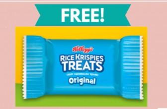 Totally FREE Rice Crispy Treat Samples!