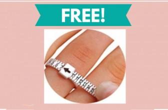 Free RING SIZER!