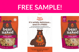 Free Sample of Bear Naked Granola!