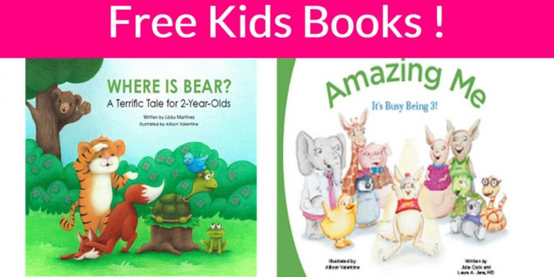 FREE Where is Bear? A Terrific Tale Book, Growth Chart and More!