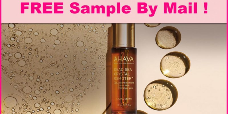 Free Sample By Mail of CRYSTAL OSMOTER FACIAL SERUM