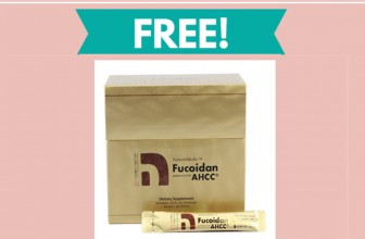 Free Sample By Mail of Fucoidan and AHCC Supplement!