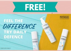 Free Sample By Mail of HYSIOGEL DAILY DEFENSE FACIAL CARE
