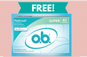 40 Pack Of FREE OB Tampons !