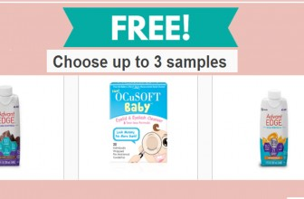 FREE Product Samples Sampler Pack
