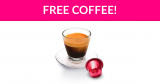 Totally Free Nespresso Coffee Pods!