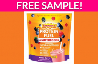 Free Sample of Emergen-C Protein Fuel & Superfoods!