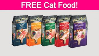 Free Sample by Mail of Fussie Cat Food!
