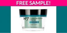 Free Sample by Mail of No7 Retinol Night Cream!