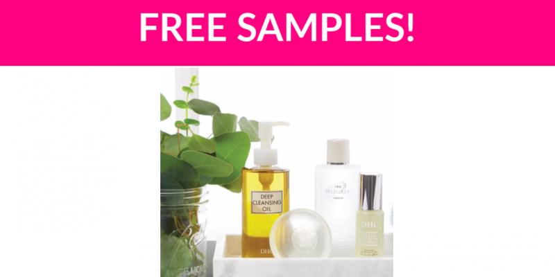 Free DHC Skincare Samples by Mail!