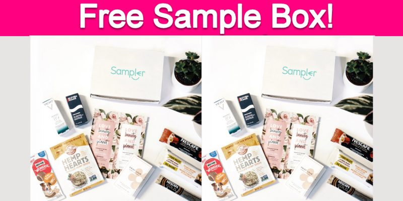 TOTALLY Free Sample Box!