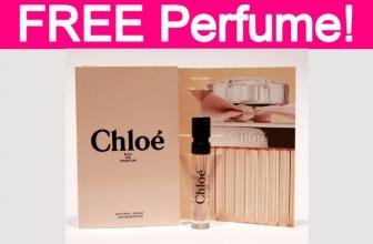 Free Chloe Perfume Sample!