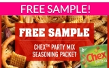 Free Sample by Mail of Chex Party Mix Seasoning!