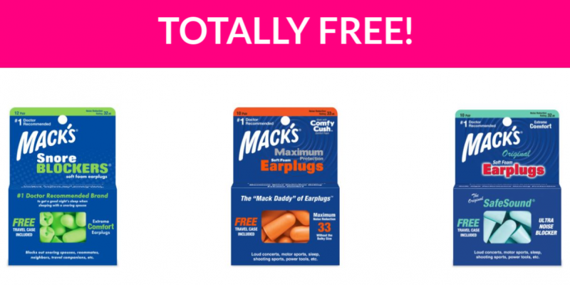 Free Mack's Ear Plugs!