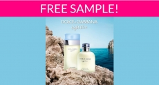 Free Sample by Mail of Dolce & Gabbana Light Blue Fragrance!