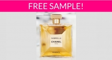 Free Sample by Mail of Gabrielle Chanel Essence!