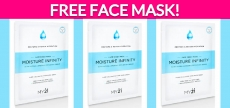 Free Sample by Mail of a Moisture Infinity Face Mask!