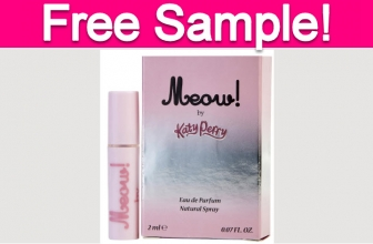 Free Sample by Mail of Katy Perry Perfume!