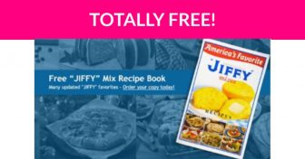 Free Jiffy Mix Recipe Book!