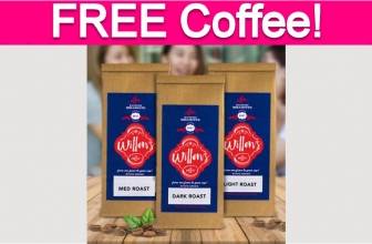Free Sample by Mail of Willows Coffee!