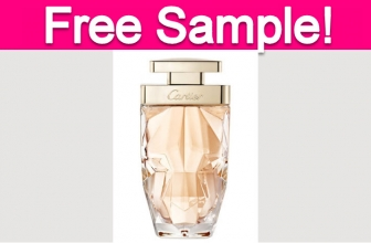 Free Sample by Mail of Cartier Perfume!