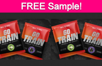 Free Sample by Mail of Real Deal Go Train Supplement!