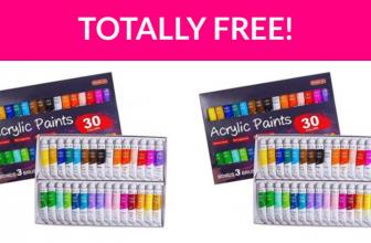 Free Acrylic Paint Set!