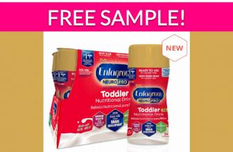 Free Enfamil Toddler Formula Sample!