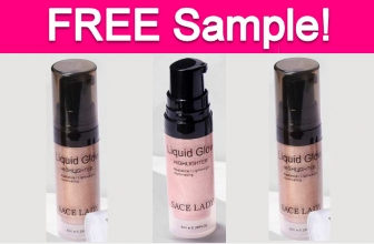 Free Sample by Mail of Liquid Glow Highlighter!