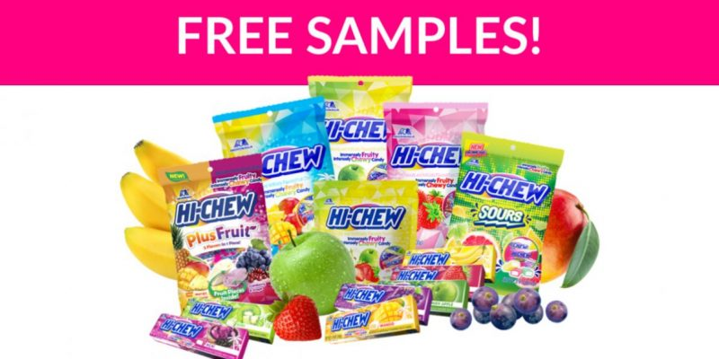 Free Hi-Chew Candy Samples by Mail