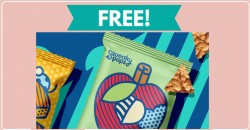 Free – FULL SIZE – Squeaky Pops Chickpea Snacks!