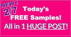 HUGE List of Today's Freebies! Updated TODAY 2/7!