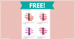 FREE BeCause Silky Matte Lip Crayon By mail!