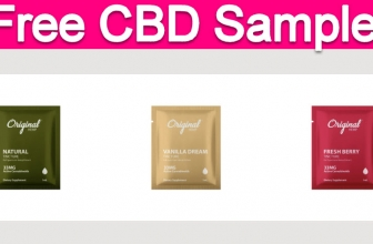Free Sample by Mail of CBD Oil!